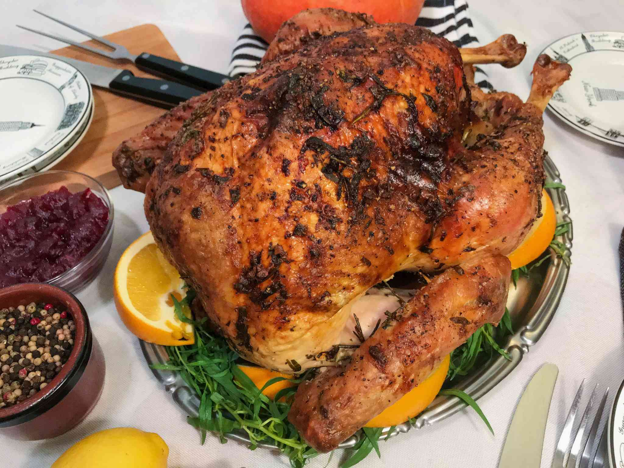 Tarragon & Rosemary Turkey